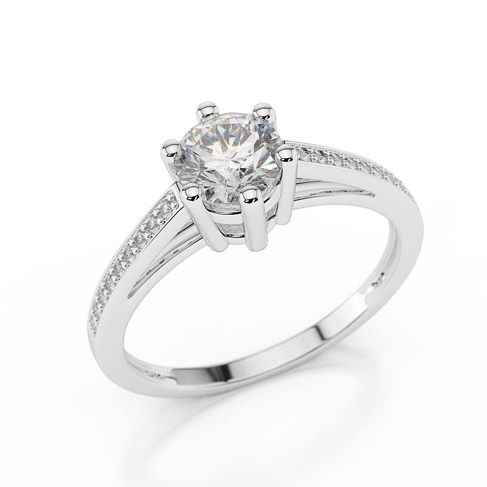 ring solitare band wedding bands diamond inspirations for rings regarding round solitaire brilliant of engagement