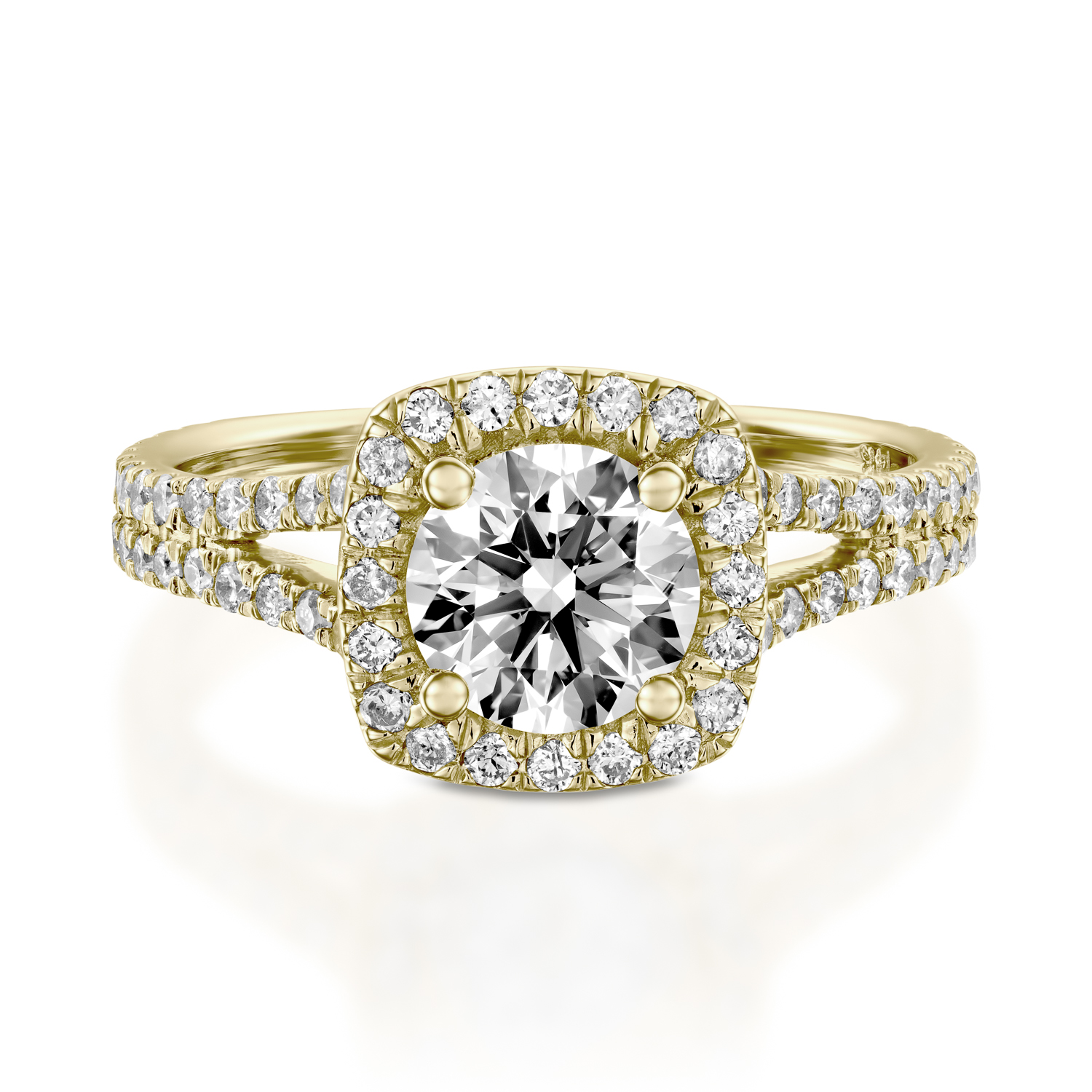1c2cb06a7a240 Velvet in Yellow Gold 1.00ct (1.80cttw)