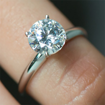 Above Are Examples Of Our Rings Set With 2 Carat Diamonds.