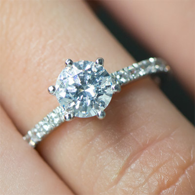 diamond rings round carat engagement pin and solitaire