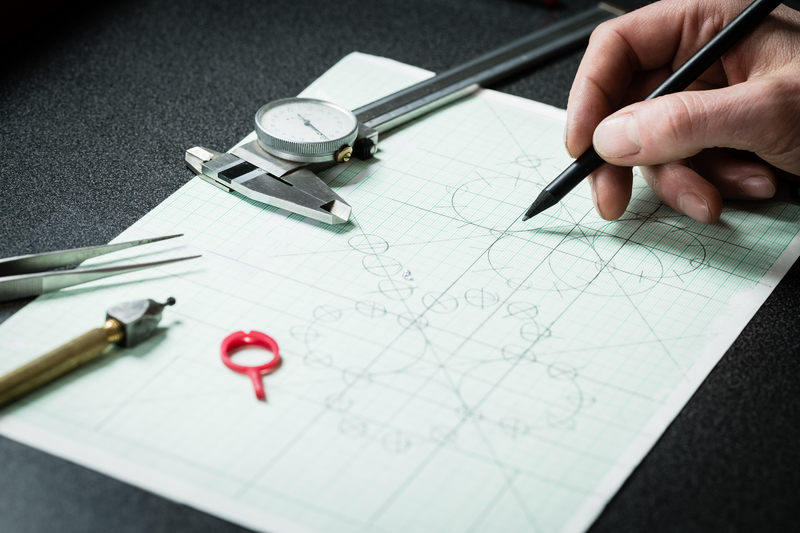 Sketch a Custom Designed Ring