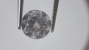 Diamond with slight Florescence