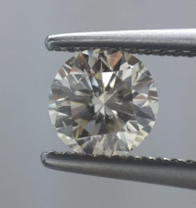 Round Diamond Under x10 Magnification
