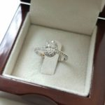 1 carat oval diamond ring