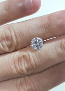 Beautiful Clarity Enhanced Diamond