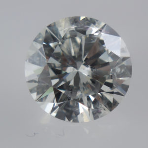 A Beautiful Clarity Enhanced Diamond Under Magnification