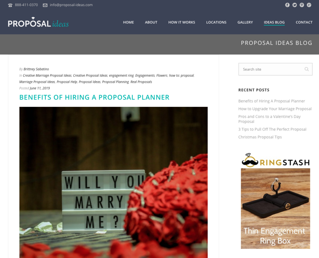Creative Proposal Ideas Read These Marriage Proposal Blogs