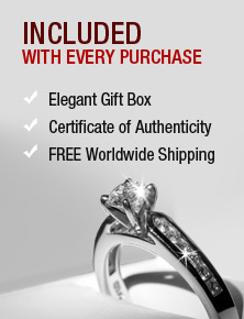 Included with Every Purchase | Elegant Gift Box, Certificate of Authenticity, FREE Worldwide Shipping