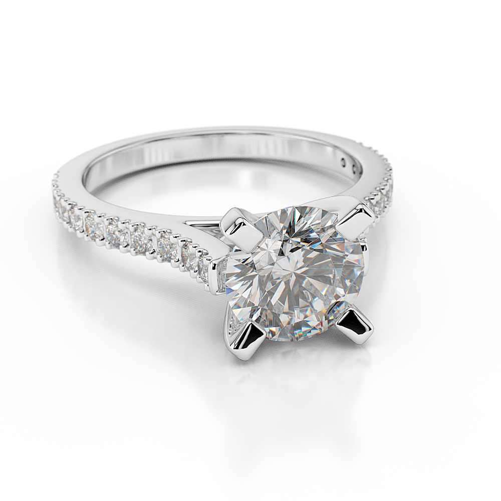 2 3 4 carat f si1 real enhanced diamond engagement ring. Black Bedroom Furniture Sets. Home Design Ideas